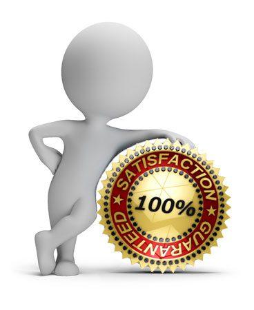 100% Satisfaction Guaranteed, CMMS