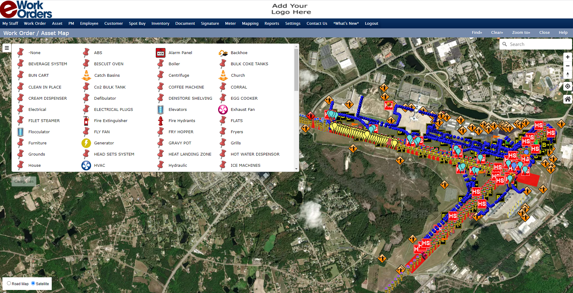 GIS Asset Mapping